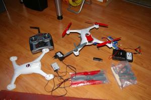 Drone blade 350 qx