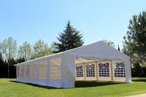 Tente / tonnelle 12x6 PVC