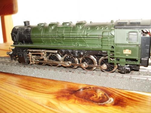 Märklin HO 3046 locomotive vapeur tender BR 150X de la SNCF