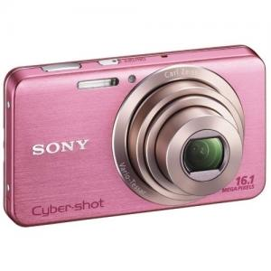 Sony rose DSC-W630 neuf +étui+carte mém.
