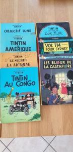 12 BD Tintin