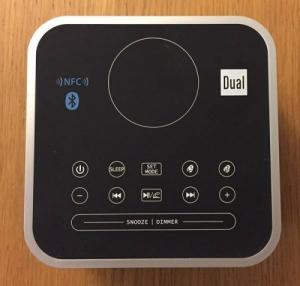 Reveil Bluetooth Dual CRQ 1 noir