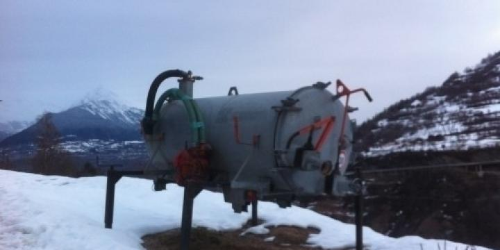 Citerne a purin 2500 litre