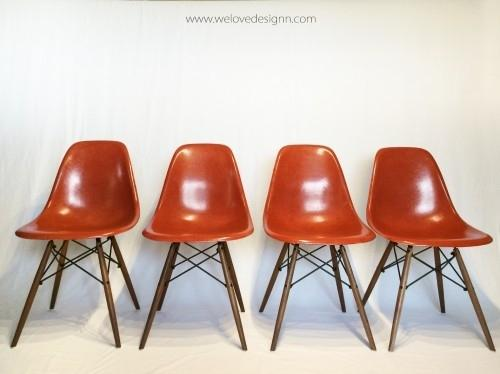 chaises eames herman miller 1950 1970. Black Bedroom Furniture Sets. Home Design Ideas