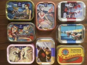 Boîte de sardines millésimées collection