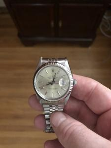 Rolex Datejust 36mm Stainless Steel