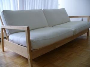 White IKEA sofa to sell