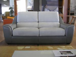 Canapé 3 places + 2 fauteuils relax électriques