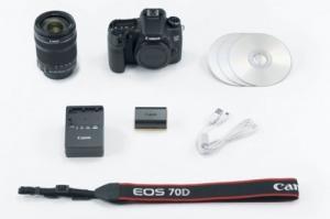 Canon EOS 70D Kamera + EF-S 18-135mm