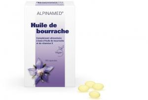 Alpinamed Huile Bourrache 200 capsules