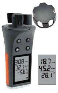 Anémomètre-thermomètre neuf, jamais serv