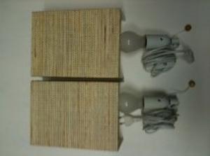 2 lampes de chevets
