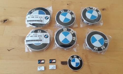 BMW e46 kit logo complets + autocollant M