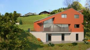 Villa individuelle  vendue sur plans avec joli jardin et terrasse