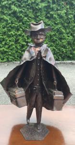 Statue en cuivre JB Venette