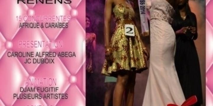 Concours de beauté Miss Ebony Swiss 2015
