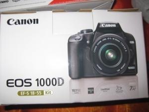 à vendre appareil photo canon