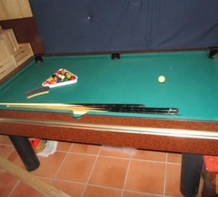 Billard Américain transformable en table