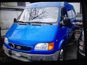 A vendre Ford Transit 190L bleu