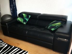 Canapé cuir luxe natuzzi 3 personnes
