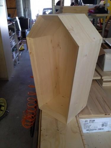 Cercueil pour enterrement de vie de garç