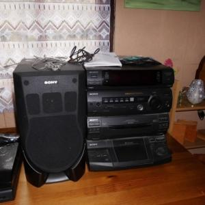 chaîne Hi-Fi Sony haut-parleur