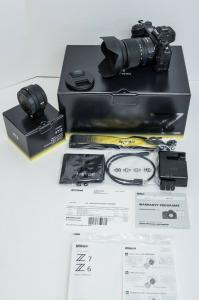 Nikon Z6 24.5MP  Kit avec NIKKOR Z 24-70mm F / 4 S