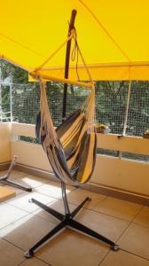 Chaise hamac et potence