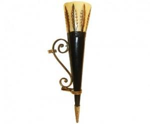 Applique Corne Bronze art de tunisie