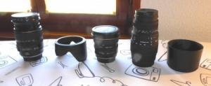 Objectifs Canon pour Format 24X36