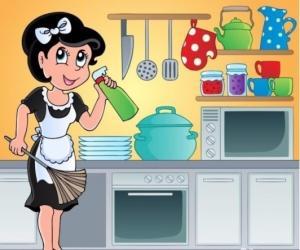 L'aide ménagère