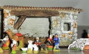 Créche de Noel artisanale de France