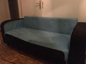 a vendre canapé bleu
