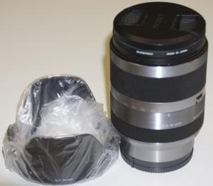 Objectif SONY: 18-200 mm / f:3.5-6.3