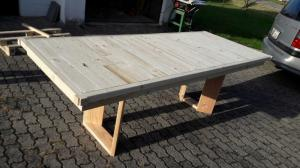 Table menuisier sur mesure