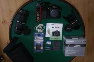 Reflex numérique Canon 50d + 17-55 + 70-