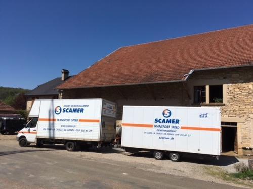 Déménagements transports  garde-meubles
