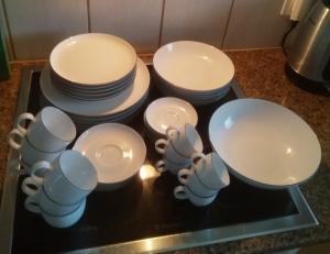 Service en porcelaine Seltmann Weiden – pour 6 personnes