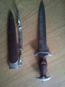 dague SA allemand origine Artuhr Melcher