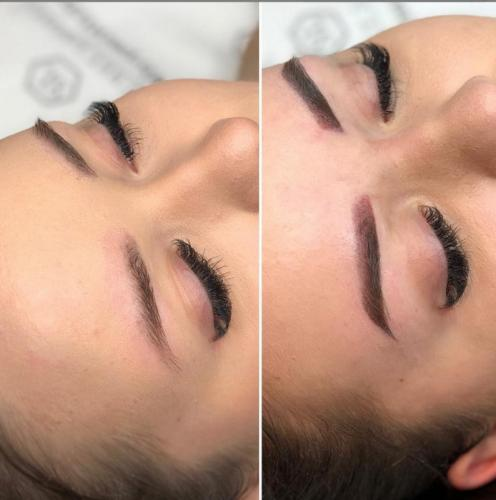 méthode ombre maquillage permanent des sourcils