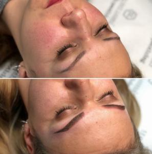 méthode ombre maquillage permanent des sourcils