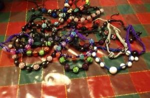 Bracelets Shamballas fait sur mesure