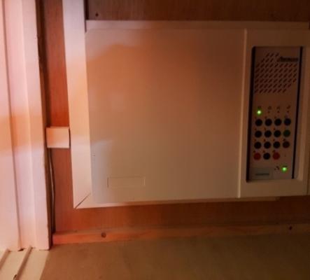 Centrale d'alarme électronique
