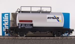 """Märklin HO 4532 wagon-citerne SJ """"Nynas"""""""