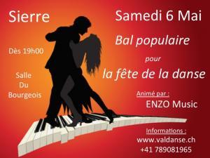 Danse: bal populaire à Sierre