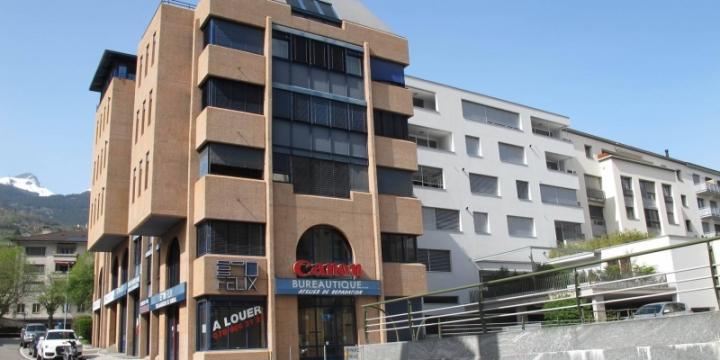 Magnifique 5.5 pces plein centre ville Sierre
