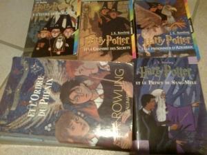 la saga Harry Potter- J.K Rowling