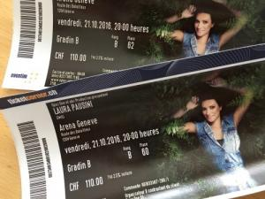 concert de Laura Pausini Arena de Genève