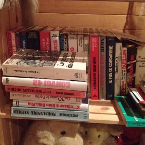 Lot de 57 livres sur la guerre