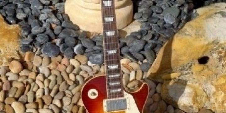 "Guitare Gibson Les paul 55"" Reissue."